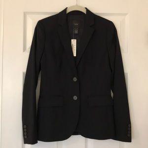 JCrew 1035 Jacket in Pinstripe Super 120s Wool